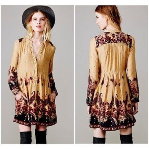 Free People Sierra Valley Shirt Dress with pockets